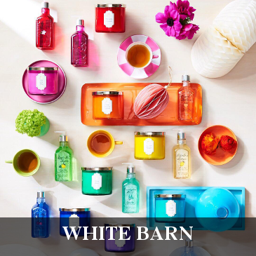 White Barn 3-Wick Scented Candle Bougie Parfumée